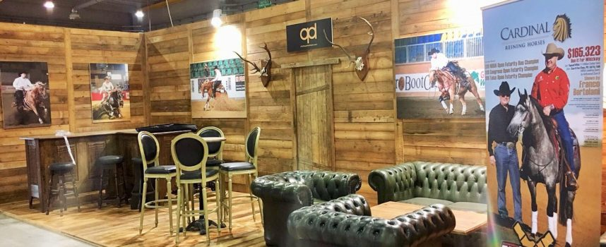 Come to visit us in our Premium Barn at the 2017 NRHA European Futurity in Cremona!