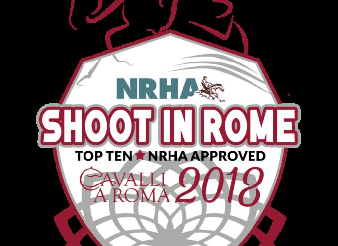 2018 NRHA Rome Shoot In – 16-18/02/2018 – Roma Cavalli (RM)